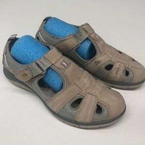 Nature Walk Tan Casual Leather Shoes 8M